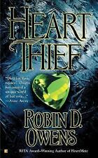 Heart Thief (Celta's HeartMates, Book 2) Owens, Robin D. Mass Market Paperback