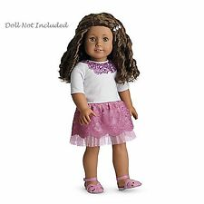 "American Girl MY AG SPARKLE SEQUIN OUTFIT for 18"" Dolls Retired Pink NEW"