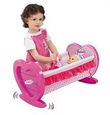 PINK Bambole Culla a dondolo Culla Per Lettino Bambine Giocattolo Con Coperta & Cuscino 008-08