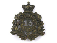 1869-1878 13th Foot (1st Somersetshire) Shako Badge