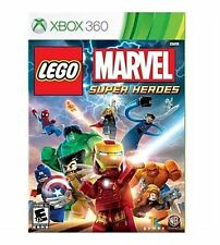 LEGO MARVEL SUPER HEROES XBOX 360! IRON MAN, AVENGERS, SPIDERMAN, HULK, THOR