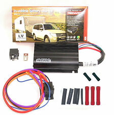 REDARC BCDC1240LV DUAL BATTERY SYSTEM DC TO DC CHARGER MPPT SOLAR+80A RELAY KIT