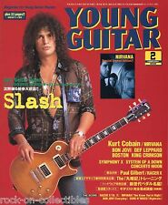 Young Guitar Magazine February 2003 Japan Slash Nirvana Bon Jovi