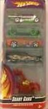 2009 HOT WHEELS HALLOWEEN SCARY CARS 5PACK WITH RODZILLA + 4 MORE