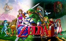 The Legend of Zelda: Ocarina of Time - Wall Poster 30in x20in - FAST SHIPPING