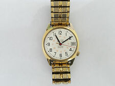 Bulova Accutron 14kt Gold Filled RailRoad Approved Wristwatch - 4938