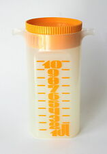 Mepal Juice Container Orange Clear Plastic