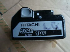 Hitachi BATTERY L 18V  li-ion Combi  BSL1850 good condition  hold full charger