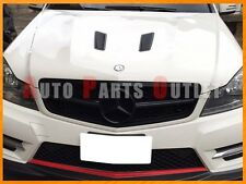 M-BENZ C204/W204 C-Class Coupe/Sedan Gloss Black C63 Look Front Grille 2008-2013