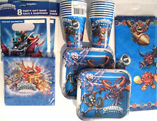 SKYLANDERS : Evergreen - Birthday Party Supply Supply Kit Set w/ Loot Bags