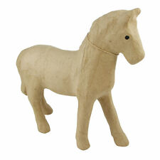 Decopatch MA004 Decoupage Papier Mache Animal Medium Size Horse
