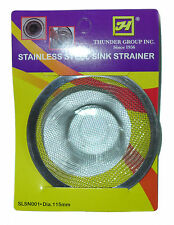 Stainless Steel Thunder Group Sink Strainers for Kitchen Trap Mesh Sieve