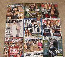 ENTERTAINMENT WEEKLY LOT, SET INCLUDES KATY PERRY, SANDRA BULLOCK, BEN AFFLECK