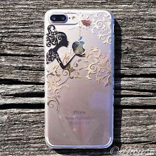 MADE IN JAPAN Soft Clear TPU Case Autumn Fairy for iPhone 7 Plus