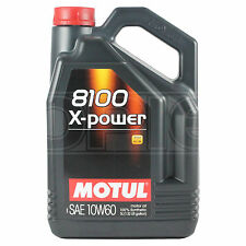 Motul 8100 X-Power 10w-60 High Performance Engine Oil 10w60 - 5 Litres 5L