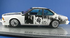 ART CAR - BMW 635 CSi - Robert Rauschenberg 1986 - 1:18 - in OVP - Minichamps