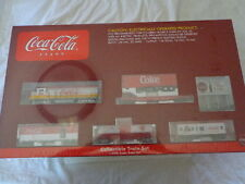 COCA COLA ATHEARN 1/87 SCALE COKE TOY READY-TO-RUN ELECTRIC TRAIN SET #2