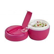 Polar Gear Lunch Pod 500ml BERRY Fully Insulated Feeding Storage w/ Spoon & Fork