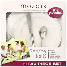 Mozaik Service for 8, 40 count