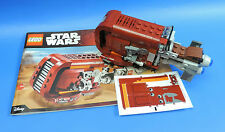 LEGO® STAR WARS Episode 7 AUS SET  75099 / RAY'S SPEEDER  (JAKKU) / OHNE FIGUREN