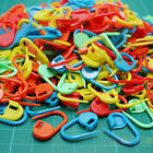 100X CUTE KNITTING CRAFT CROCHET LOCKING STITCH NEEDLE CLIP MARKERS HOLDER