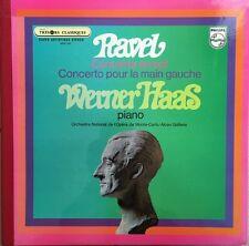 Ravel - Concerto en Sol pour la Main Gauche - Werner Haas - Vinyl 33T LP
