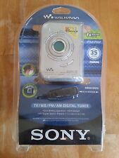 NEW Sony Walkman WM-FX495 FM/AM Weather Band Radio TV Tuner cassette tape player