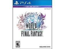 World of Final Fantasy: Day One Edition For PlayStation 4-PS4-BRAND NEW