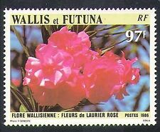 Wallis & Futuna 1986 Oleander/Flowers/Plants/Nature 1v (n37473)