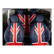 New PU leather Union Jack UK Flag Style Seat Cover for MINI Cooper R55 R56 R57
