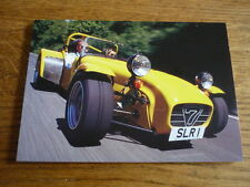 ORIGINAL, UNUSED, CATERHAM SUPERLIGHT R500 CAR 'BROCHURE' POST CARD  EARLY  90's