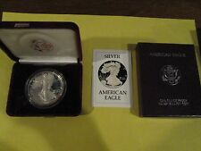1986-S Silver Liberty One Dollar American Eagle One Ounce Proof Coin