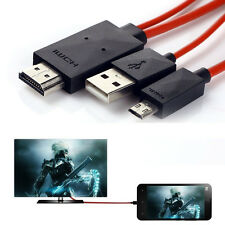Mobile turn HDMI mhl to hdmi Cable TV Audio Conversion Line For Cellphone