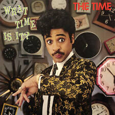 The Time WHAT TIME IS IT? Limited RSD 2017 New Sealed Green Colored Vinyl LP