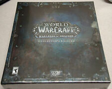 WoW: Warlords of Draenor (Windows/Mac, 2014) Collector's Edition NEW NIB