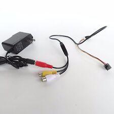 BRICOLAJE seguridad para hogar HD 1200TVL CCTV mini Óptica micro CÁMARA ESPÍA
