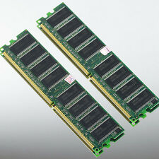 Samsung 2GB 2x1GB 1GB PC3200 DDR400 LOW DENSITY 400MHZ MEMORY DIMM desktop 64Mx8