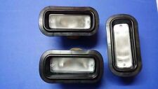 3 PCS Rear Bumper Clear Fog Light Civic EG EK CRX EF8 Integra DC2 DB8 COMBINE EJ