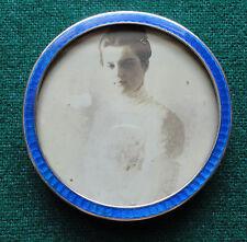 Grand Duchess Maria Pavlovna of Russia Photo by Vesenberg in Silver Enamel Frame