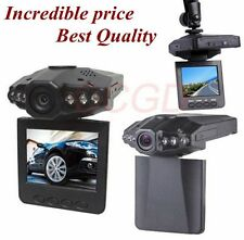 "2.5"" HD CAR DVR Vehicle Video Camera IR DVR Cam CCTV Night Vision Recorder F198"