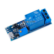 5V -30V Micro USB Power Delay relay Timer control module Trigger delay switch