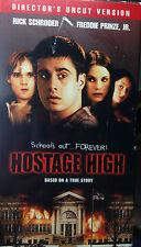 Hostage High (VHS, Uncut Version) 1997 thriller stars Freddie Prinze Jr