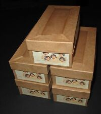 "♚ REPLACEMENT MADAME ALEXANDER DIONNE QUINTUPLET BOXES FOR 7"" COMPOSITION DOLLS"