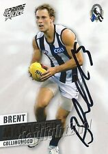 ✺Signed✺ 2013 COLLINGWOOD MAGPIES AFL Card BRENT MACAFFER