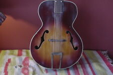 RETROFLASHBACKS VINTAGE KAY ARCHTOP GUITAR VERY EARLY ACCOUSTIC BOUND BODY BLUES