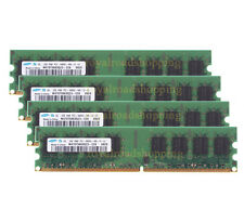 NEW-Samsung 8GB 4X2GB DDR2 800MHz PC2-6400U 240PIN DIMM RAM intel Desktop memory