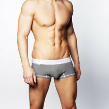 CROOTA AUSTRALIA Mens Underwear Boxer Briefs, Satin Band Lo Rise Hipster, SMALL