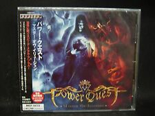 POWER QUEST Master Of Illusion + 1 JAPAN CD Eden's Curse Iron Mask Dragonheart