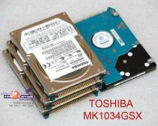 "80 GB 2,5"" 6,35cm IDE PATA HDD DISCO DURO TOSHIBA MK1034GSX HDD2D30 DEFECTUOSO #"