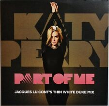 Katy Perry - Part Of Me (Jacques Lu Cont's Thin White Duke Mix) LP - NEW COPY